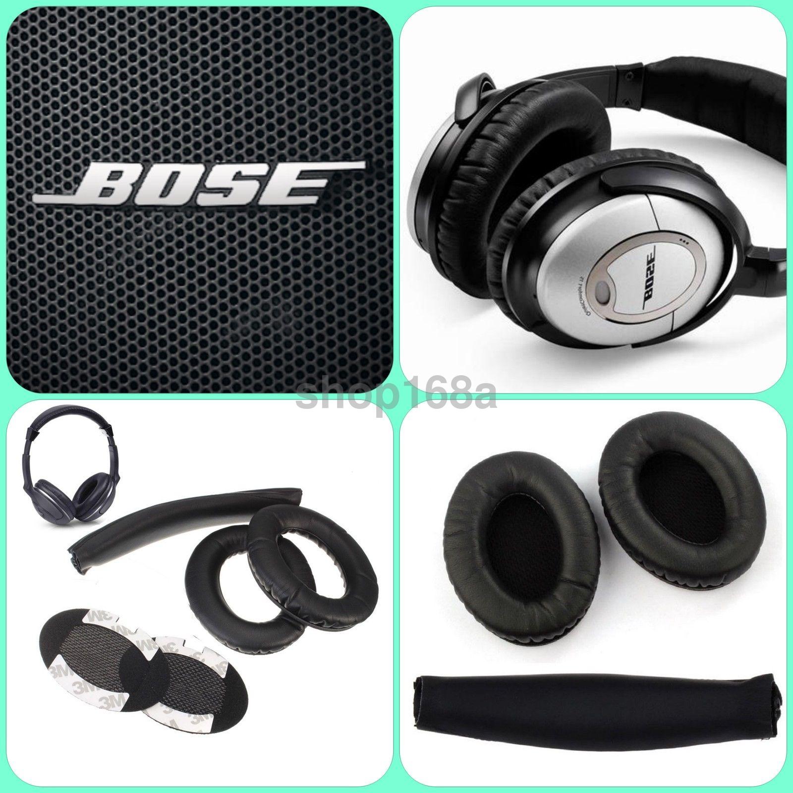 EEEKit Pair Replacement Ear Pads Cushions for Bose Quietcomfort QC AE Headphones