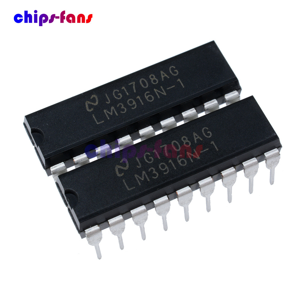10PCS LED Display Driver IC NSC DIP-18 LM3916N-1 LM3916N-1//NOPB