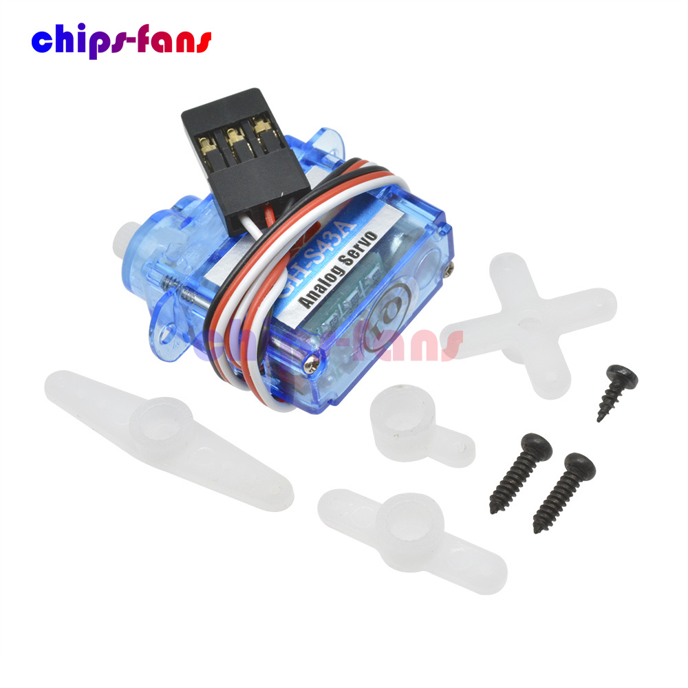 4.3g MiNi Micro Servo For Control Aeromodelling Aircraft Flight Direction