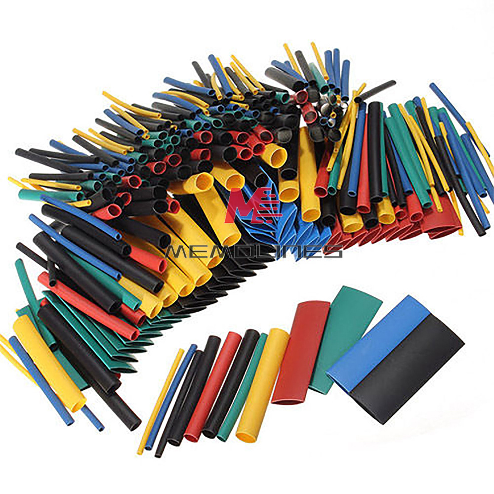 530Pcs Multicolor Heat Shrink Tubing Tube Cable Sleeves Wrap Wire Set For RC DIY