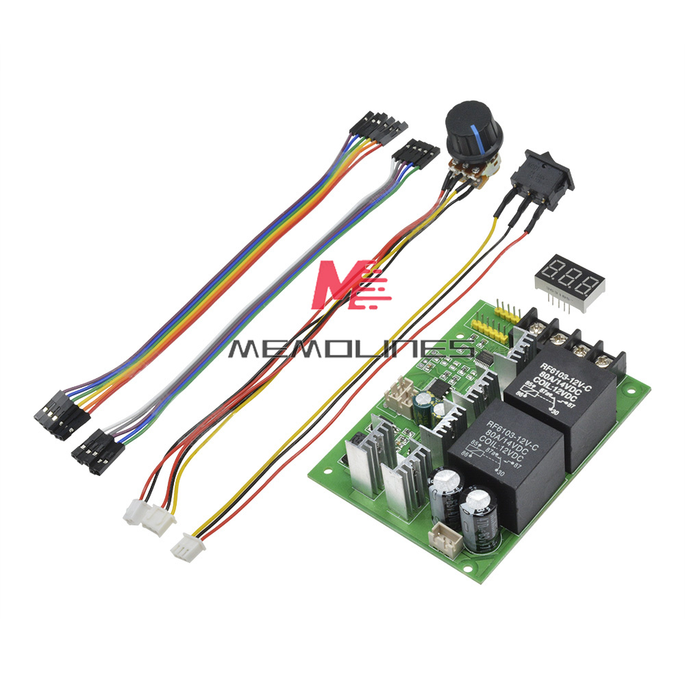 40A PWM Speed Regulator Function DC Brush Motor Controller Switch DC10-55V