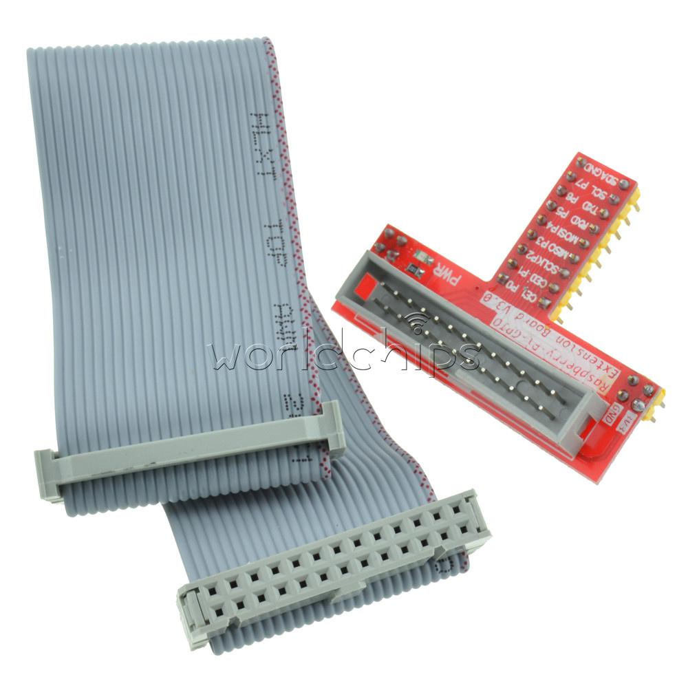 9X Raspberry Pi Stacking GPIO Header 2x20 40P 40 pin 2.54 Female Extra Long Pins