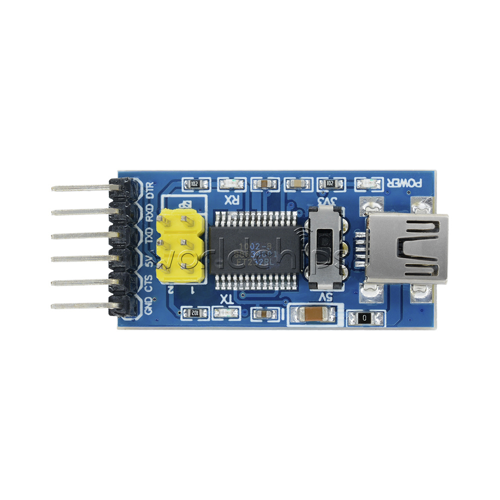 FT232RL 3.3V 5.5V FTDI USB to TTL Serial Adapter Module Arduino Port TE321