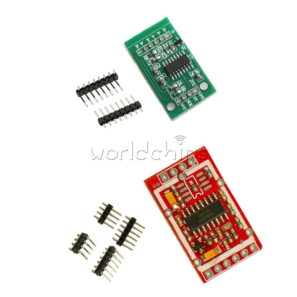 2PCS HX711 Weighing Sensor AD Module Dual-channel 24-bit A//D Conversion