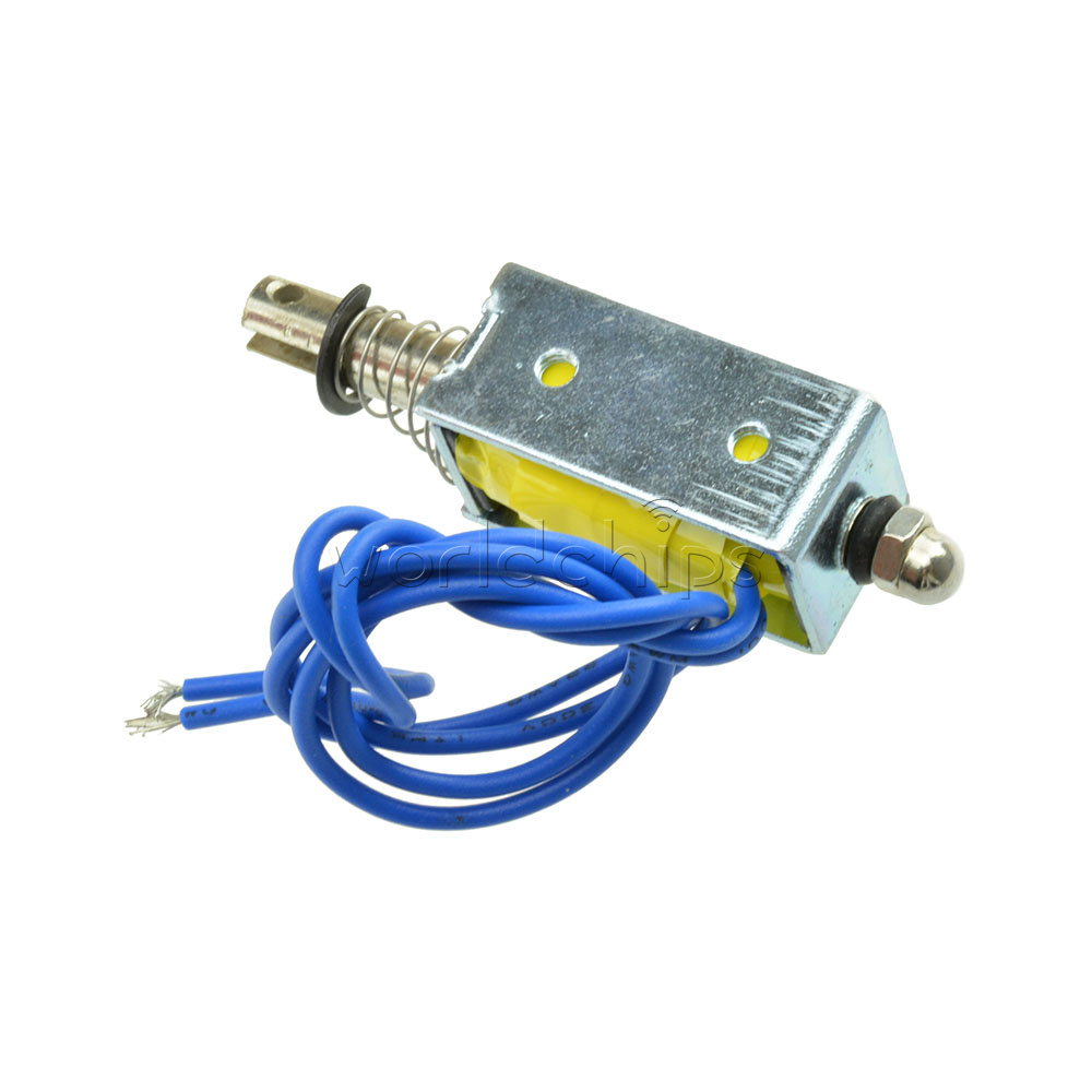 DC 12V HCNE1-0520 Frame Pull Type DC Solenoid Electromagnet NEW UK