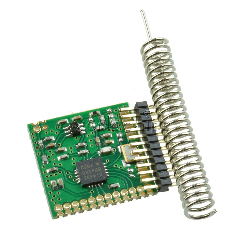 2x SI4432 470MHz 1000m Wireless Module 470M 433mhz Wireless Communication Module