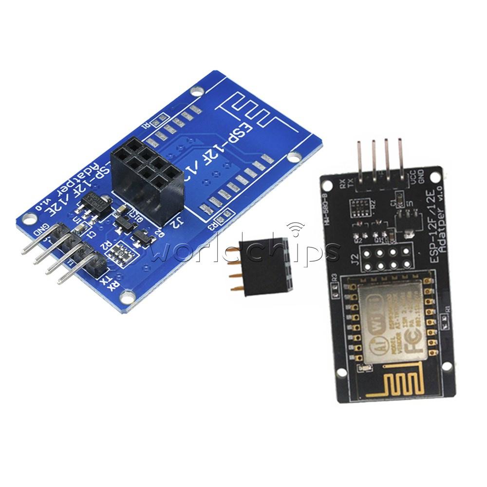 Arduino kompatibel+IO Adapter Platine ESP8266 ESP-12F Serielles WiFi WLAN Modul