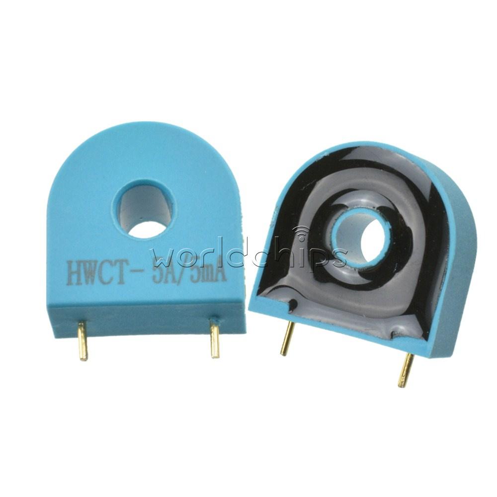 2PCS  HMCT103C 5A//5MA Precision Micro Current Transformer Sensor Module