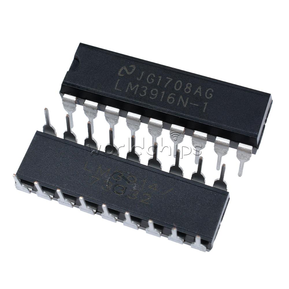 5PCS LED Display Driver IC NSC DIP-18 LM3916N-1 LM3916N-1//NOPB