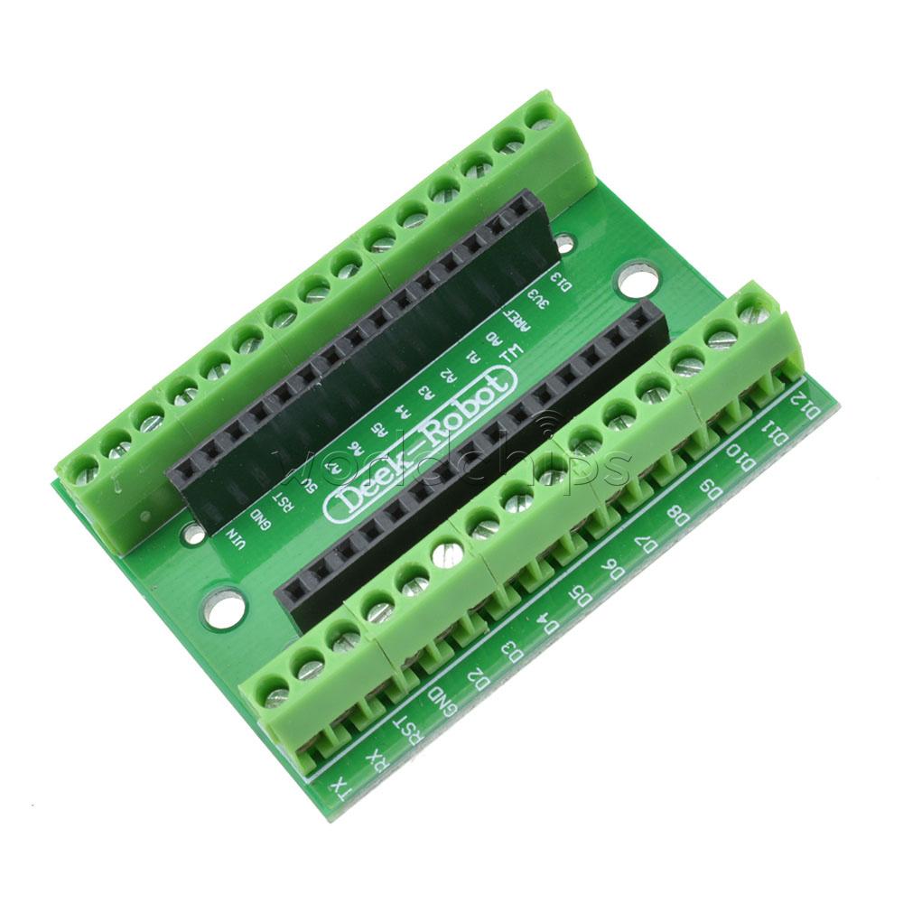 Nano Adaptador De Terminal Para Arduino Nano V3.0 Avr Atmega328p-au módulo Board