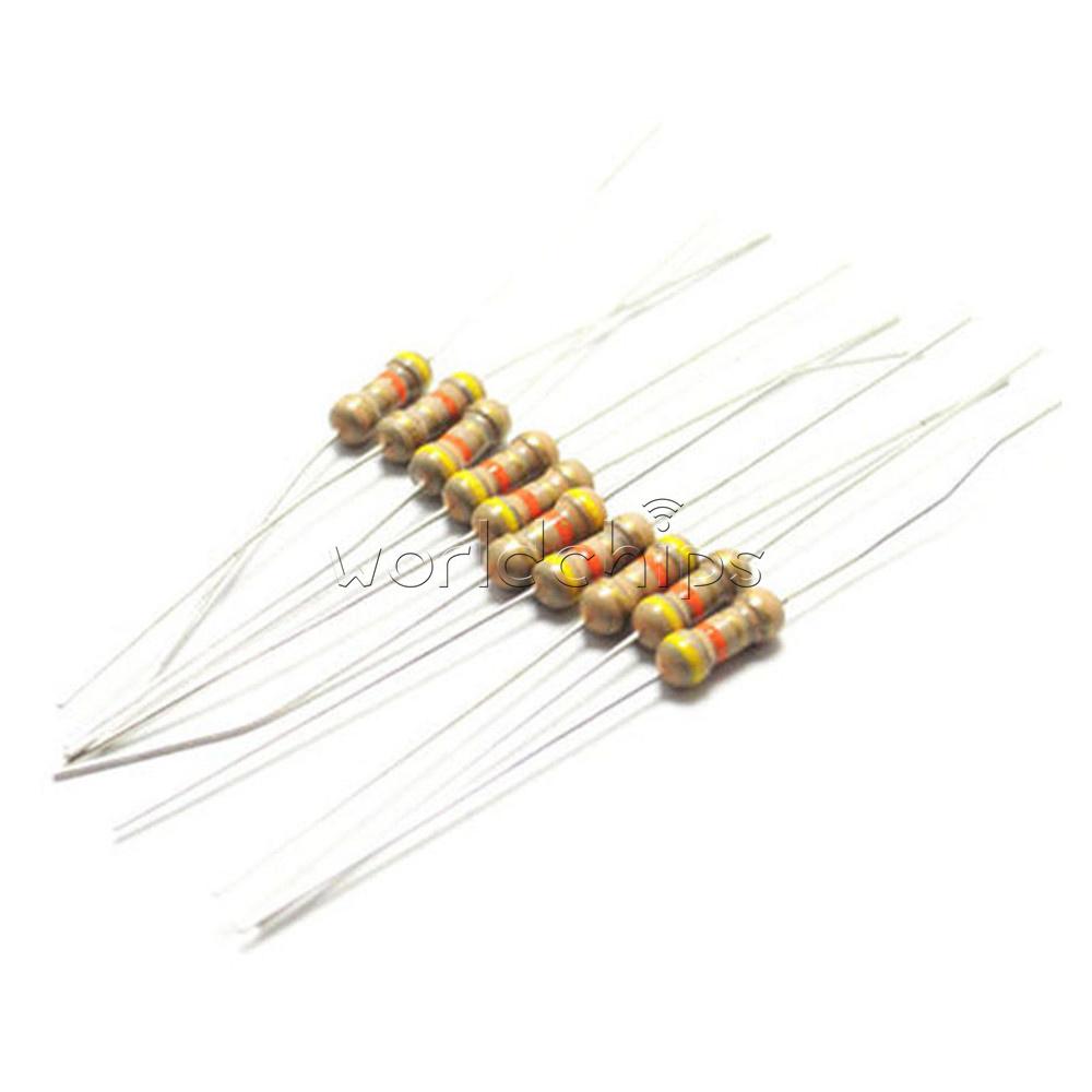 New 1000PCS Resistors 10K Ohms OHM 1//4W 5/% Carbon Film
