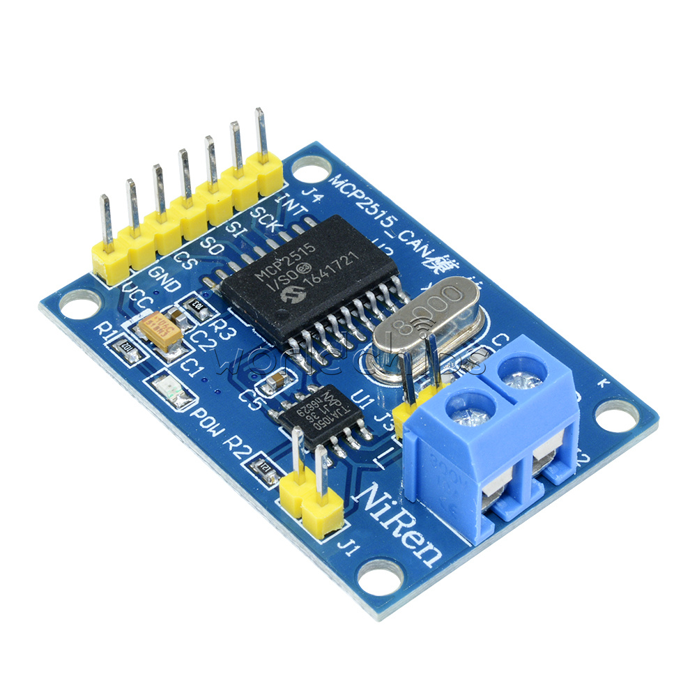 5 Pieces MCP2515 Module CAN Bus Mdule TJA1050 Receiver SPI For Arduino.