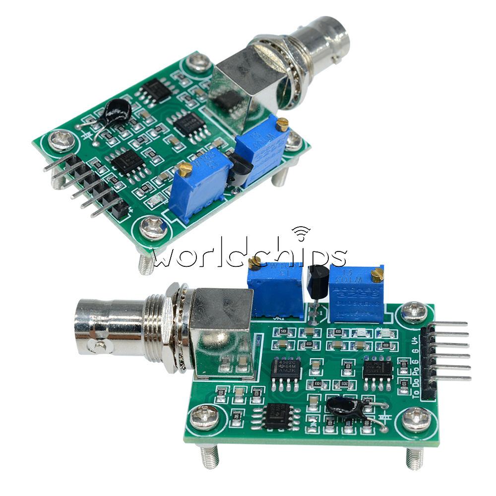 Liquid-valore-pH-0-14-Modulo-Sensore-Rileva-PH-elettrodo-sonda-BNC-per-Arduino miniatura 30