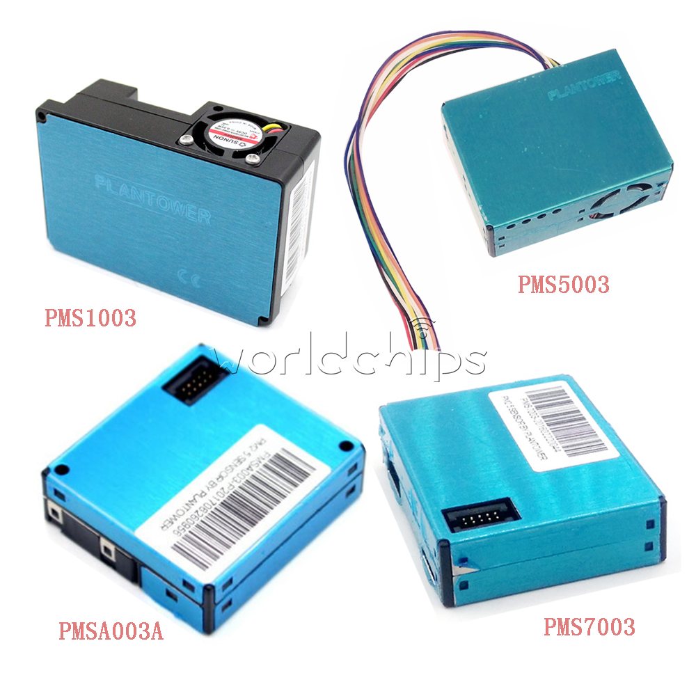 Digital Particle Laser Sensor PMS7003M PM2.5 PM10 Switch Board Cable for Arduino