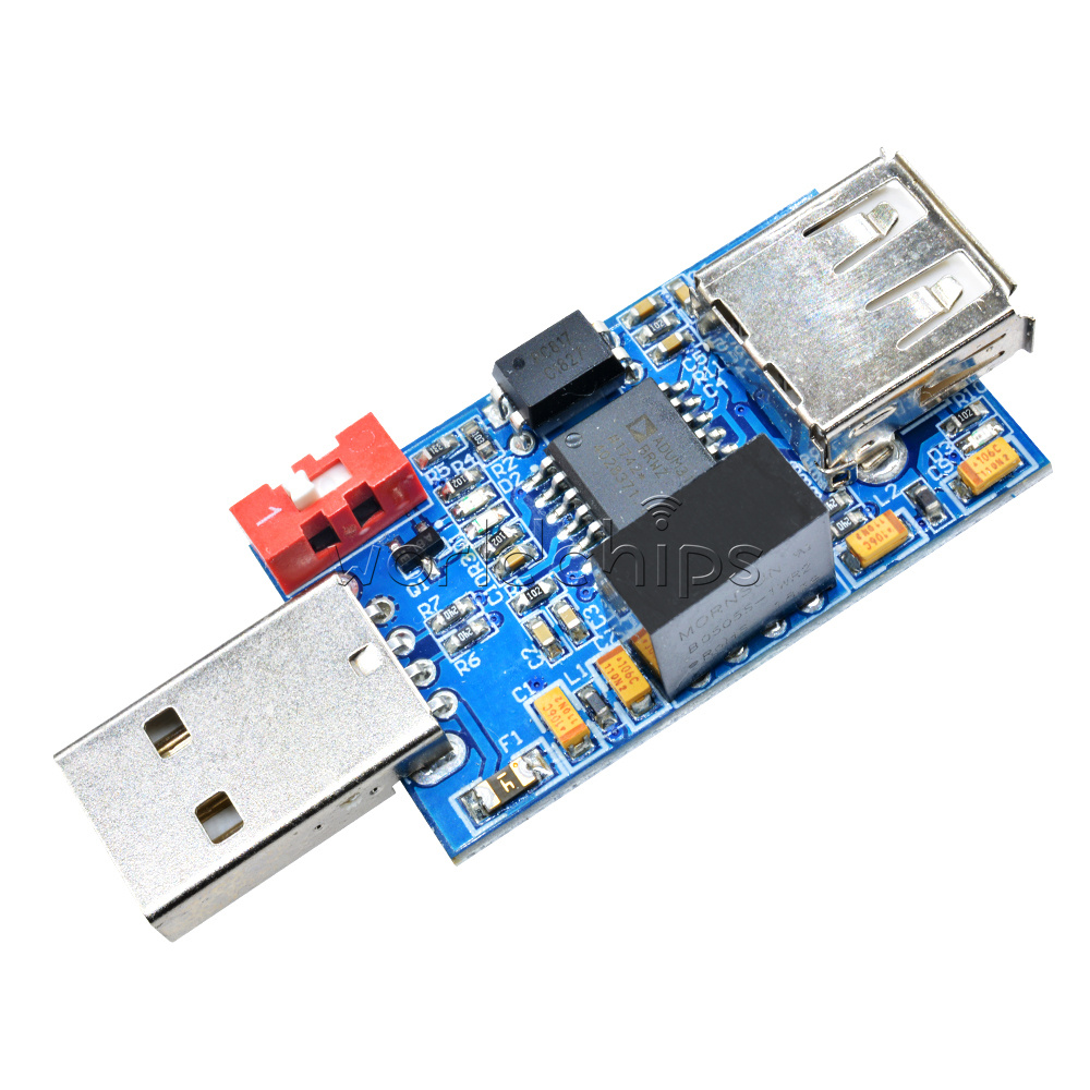 1-5PCS USB to USB Isolator Board Protection Isolation ADUM4160 ADUM3160 1500V