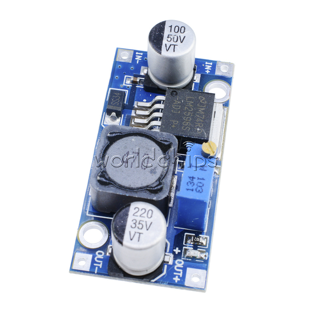 Lm2596 Lm2596hv Lm2596hvs Xl6009 Buck Step Up Down Power Converter To Dc 9vac 35vdc Simple Ac