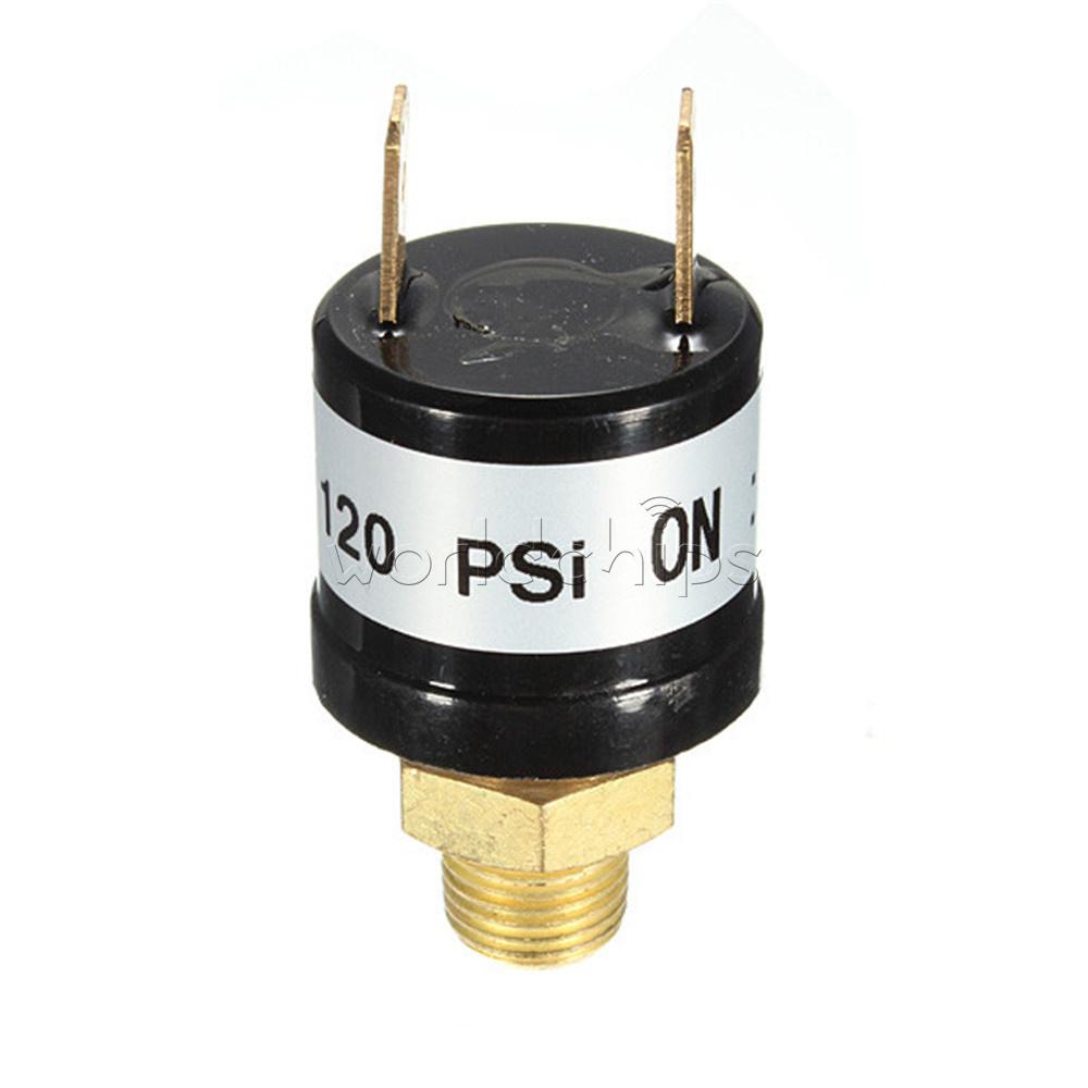 "1//4/"" 1~10KG BSP Compressor Release Air Pressure Relief Regulator PSI90-120Switch"