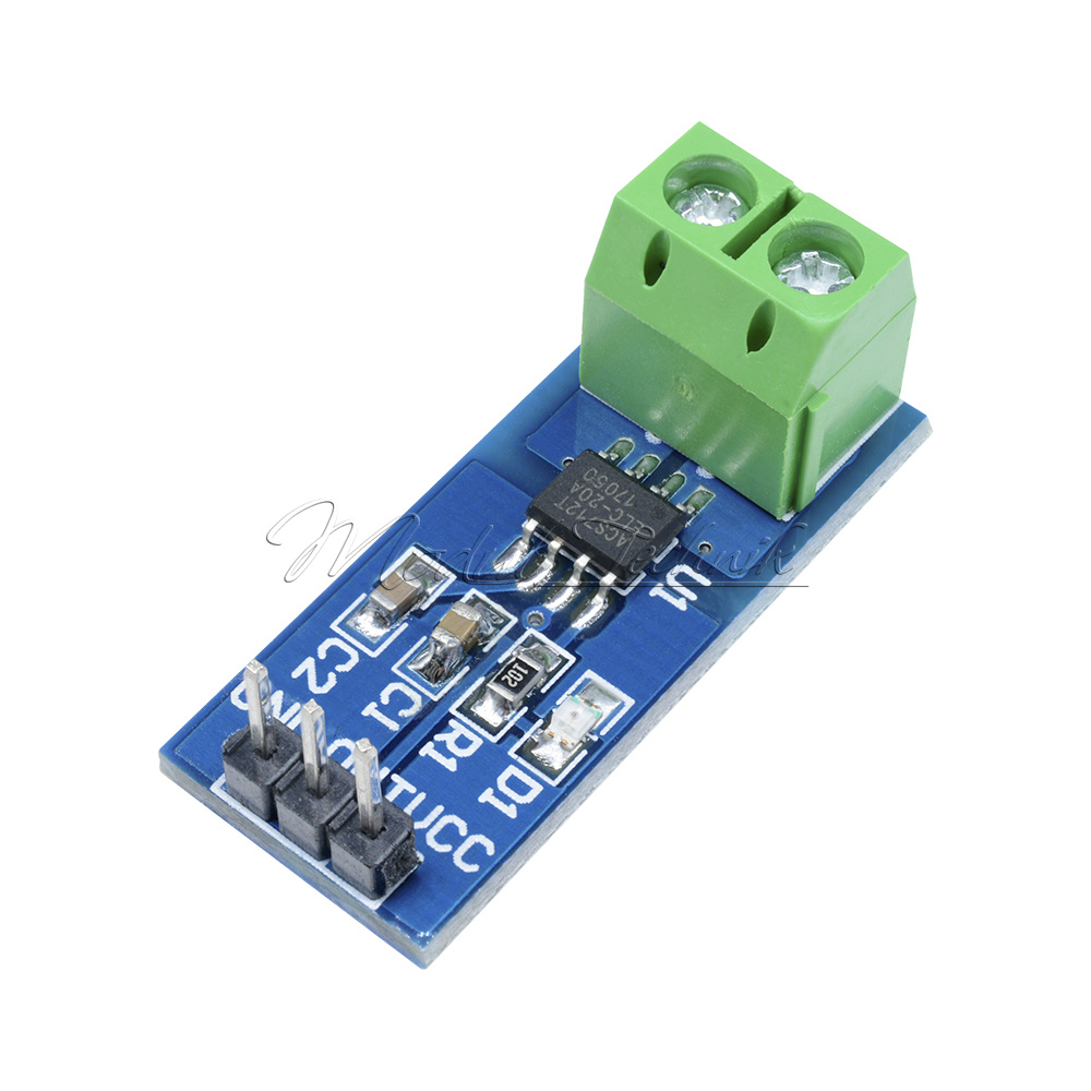 Arduino Current Sensor  Hall Sensor NEW ACS712 20A Stromsensor Analogausgang