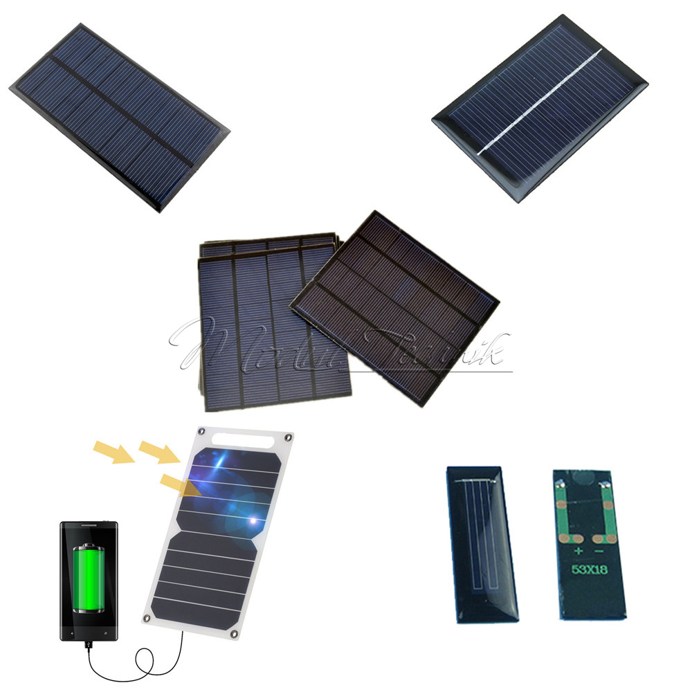 05 5 6v 06 1 10w epoxy cell photovoltaic solar power panel battery