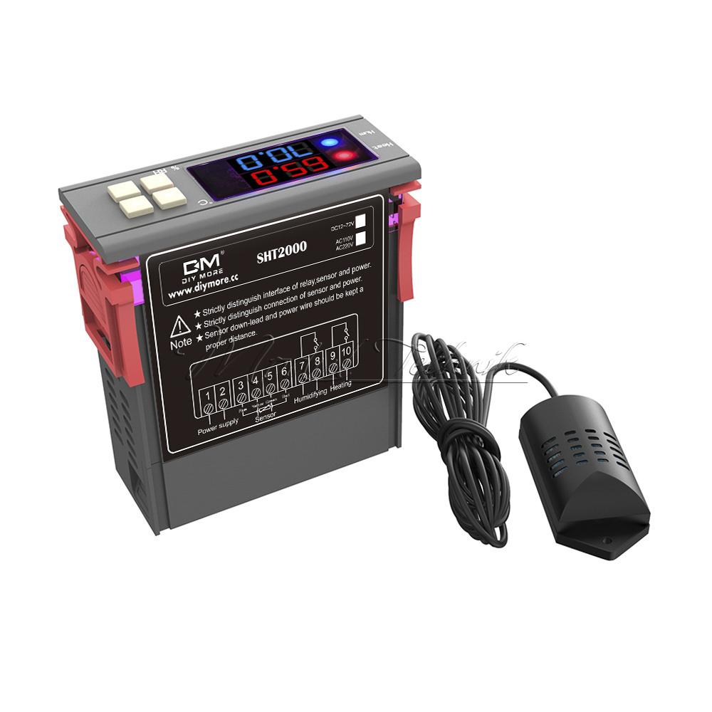 DHT11 SHT20 SHT2000 Temperature Humidity Sensor Control