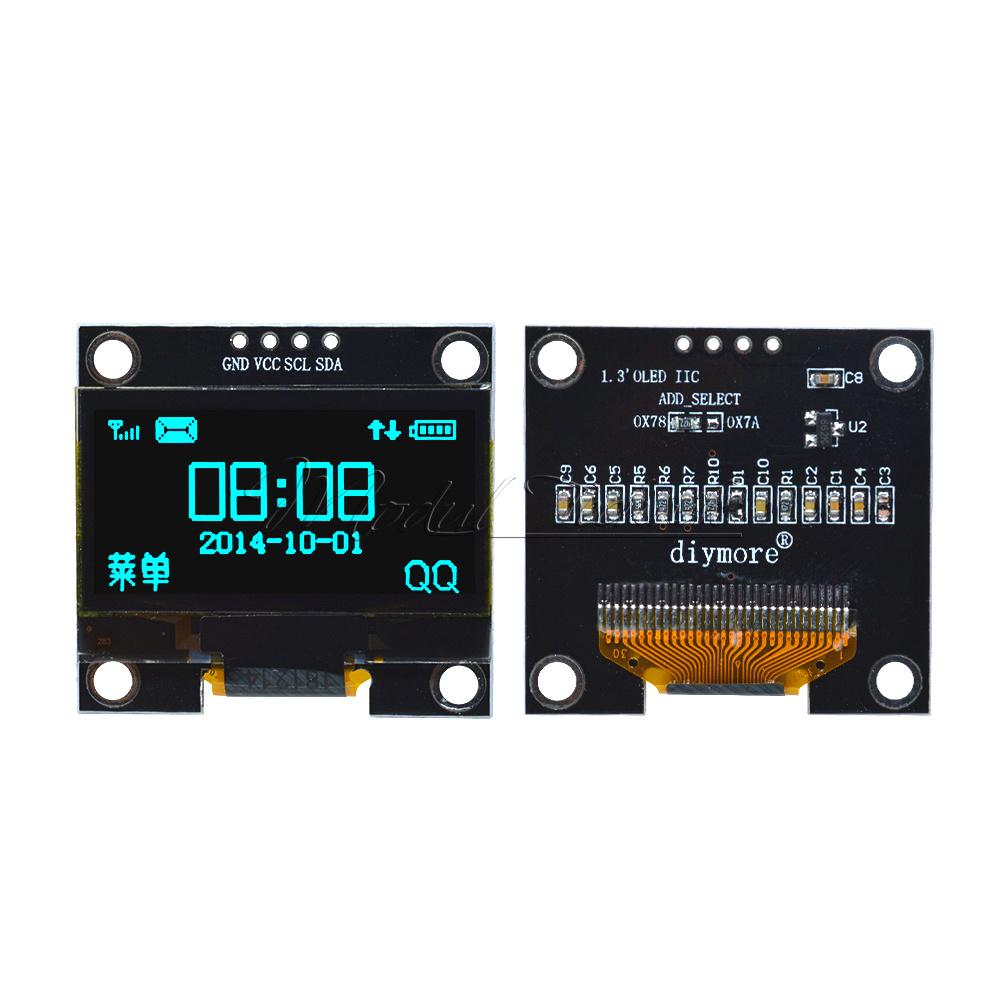 "1.3 /""OLED LCD 4PIN Display Module IIC I2C Interface 128x64 para Arduino SA"
