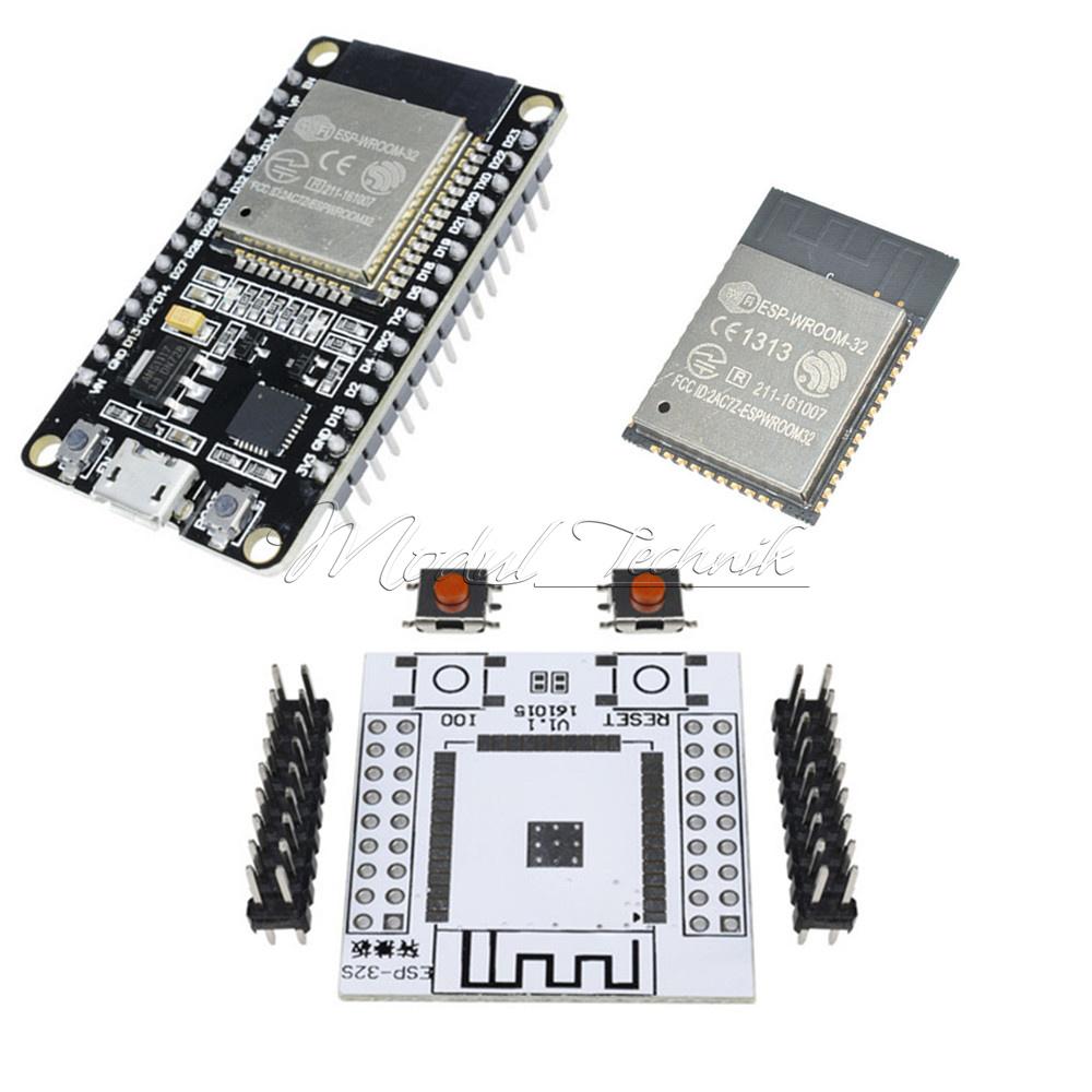 Ersatz ESP-WROOM-32 Platine Doppelt Core Elektronische Komponenten Wi-Fi//WLAN