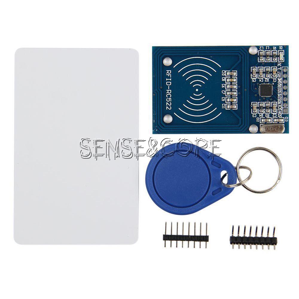 RC522/RF m/ódulo Sensor IC tarjeta lector S50/NFC//RFID Smart Card para Arduino UNO//Mega2560