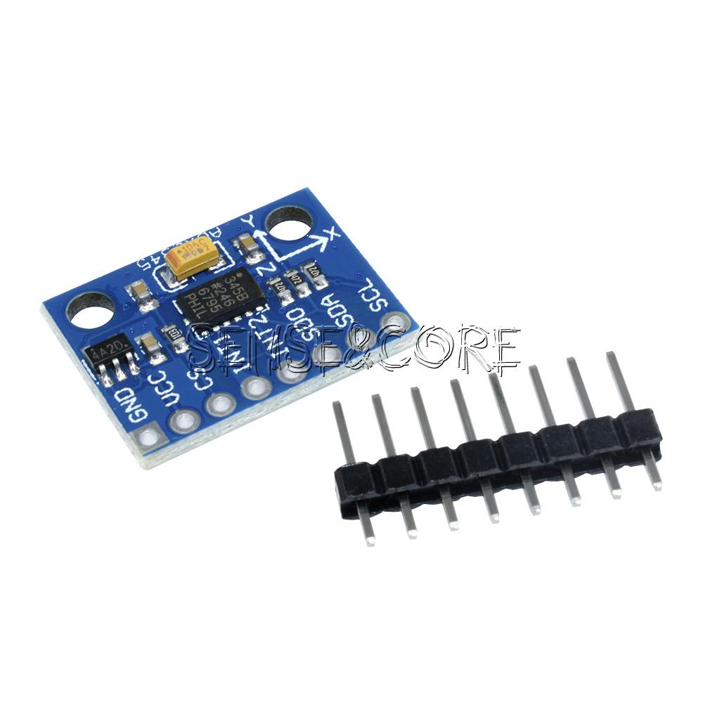 GY-45 MMA8452 Beschleunigungssensor Modul I2C 3-Achsen Accel Arduino Raspberry P