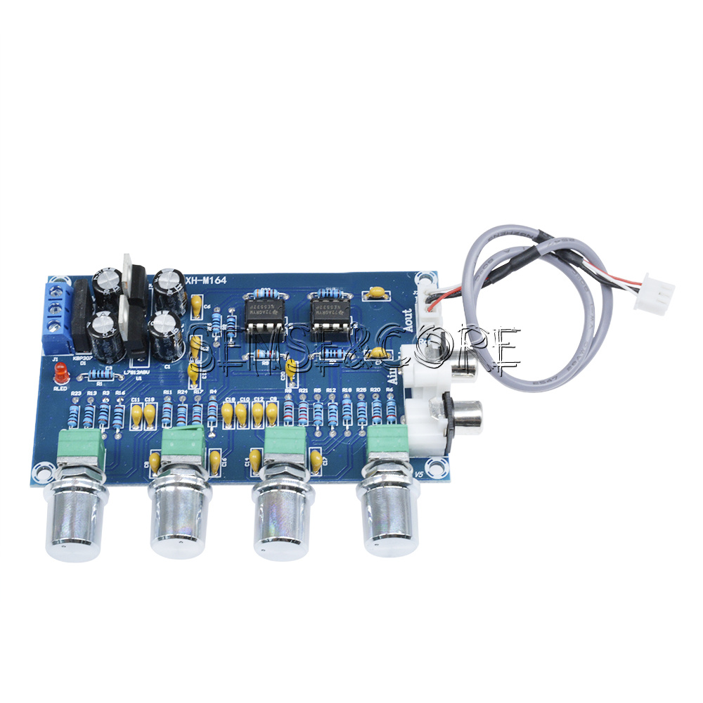 Ne5532 Stereo Vorverstrker Tone Control Diy Verstrker Amplifier Passive Circuit Board Modul