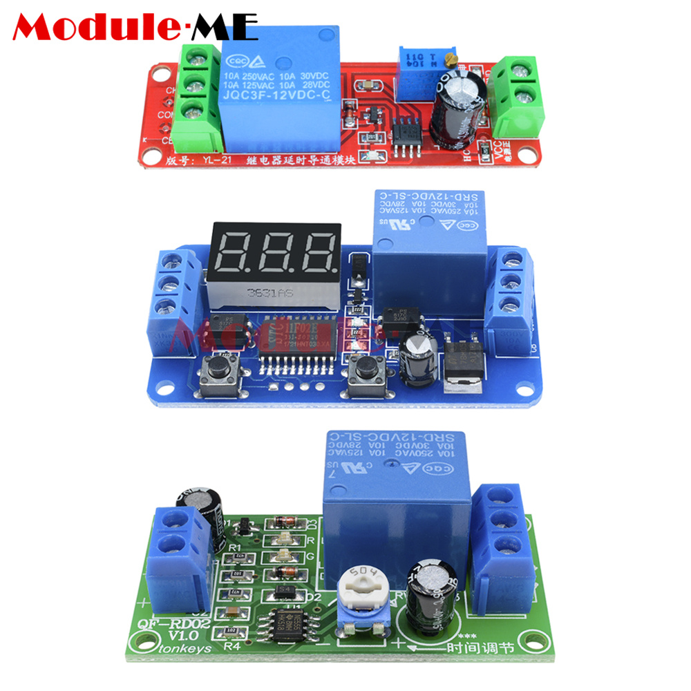 Simple Adjustable Industrial Timer Circuit Electronic Circuit