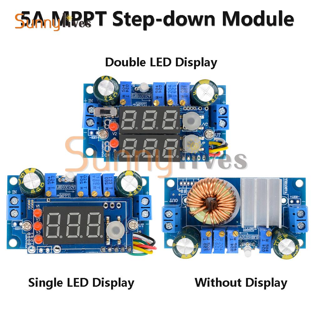 Universe 5A Solar Charge Controller Battery Charging Module 9V 12V 18V 24V MPPT Solar Panel Controller