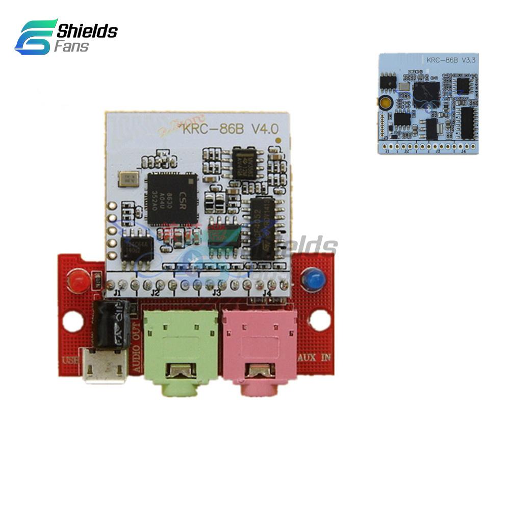1PCS NEW DIY KRC-86B Bluetooth 4.0 Stereo Audio Receiver Module Board