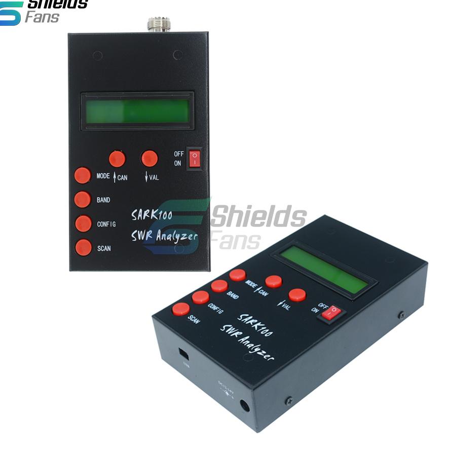 SARK100 Mini60 HF ANT SWR Antenna Analyzer Meter 1-60Mhz For Ham  Radio