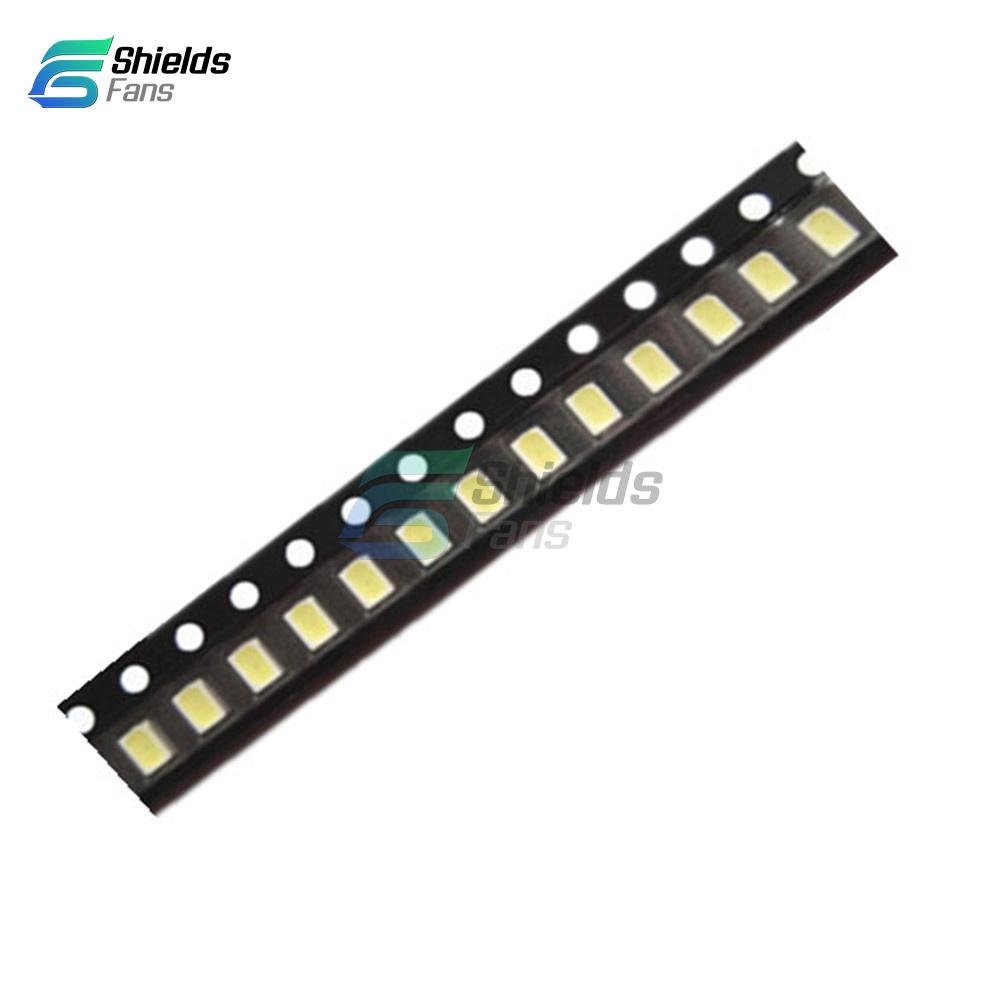 500 pcs SMD SMT 0805 Super bright White LED lamp Bulb GOOD QUALITY