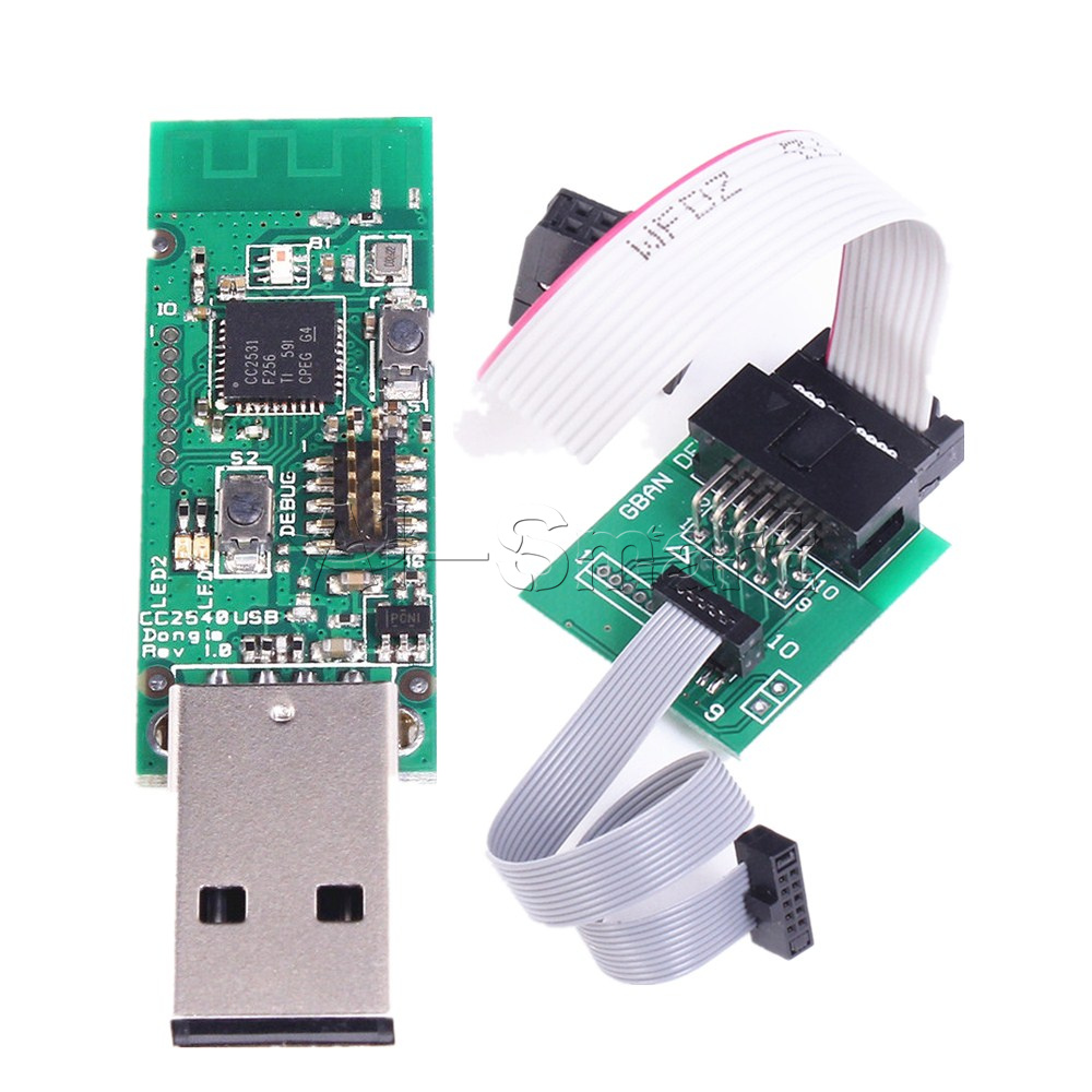 CC2531 CC2540 Sniffer Protocol Analyzer Dongle/&BTool USB Downloader Cable