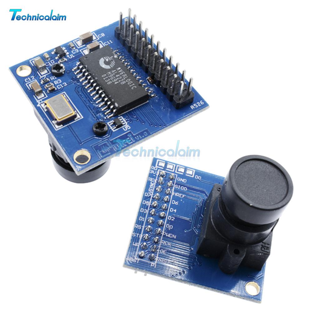 VGA OV7670 CMOS Camera Module Lens CMOS 640X480 SCCB W// I2C Interface PLCA