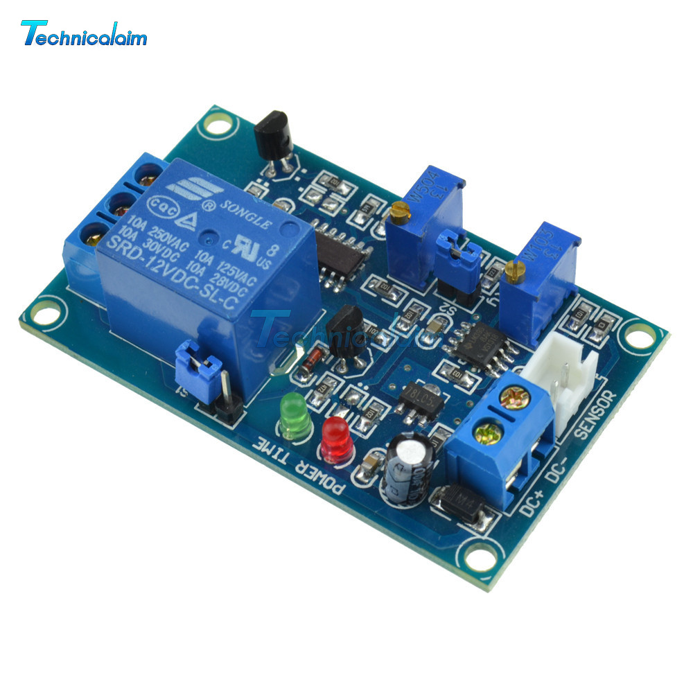 12v Photoswitch Photoresistance Ldr Photoresistor Relay Module Light For Beginners In Electronics Sensor Probe Photoresistors And Photodiodes Have Two Kinds The Default Hair Is Sensitive Resistor Type