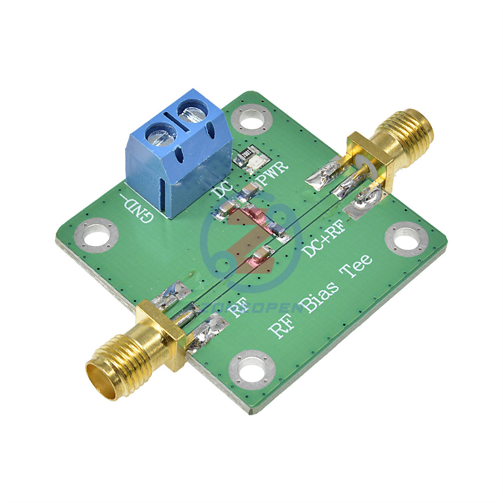 Bias Tee Wideband 10-6000 MHz 6GHz for HAM radio RTL SDR LNA Low Noise Amplifier