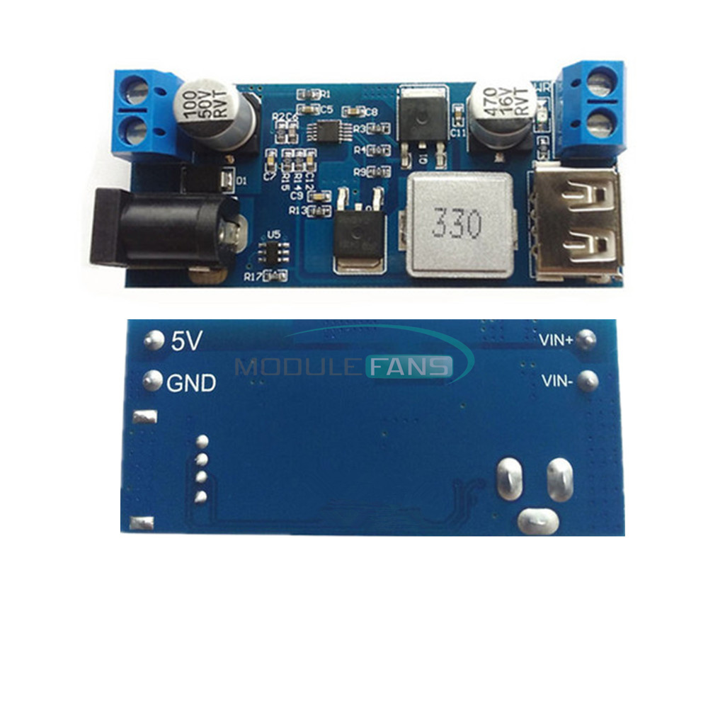 Details about DC-DC 24V / 12V To 5V 5A Power Module Step-Down Power Supply  Buck Converter
