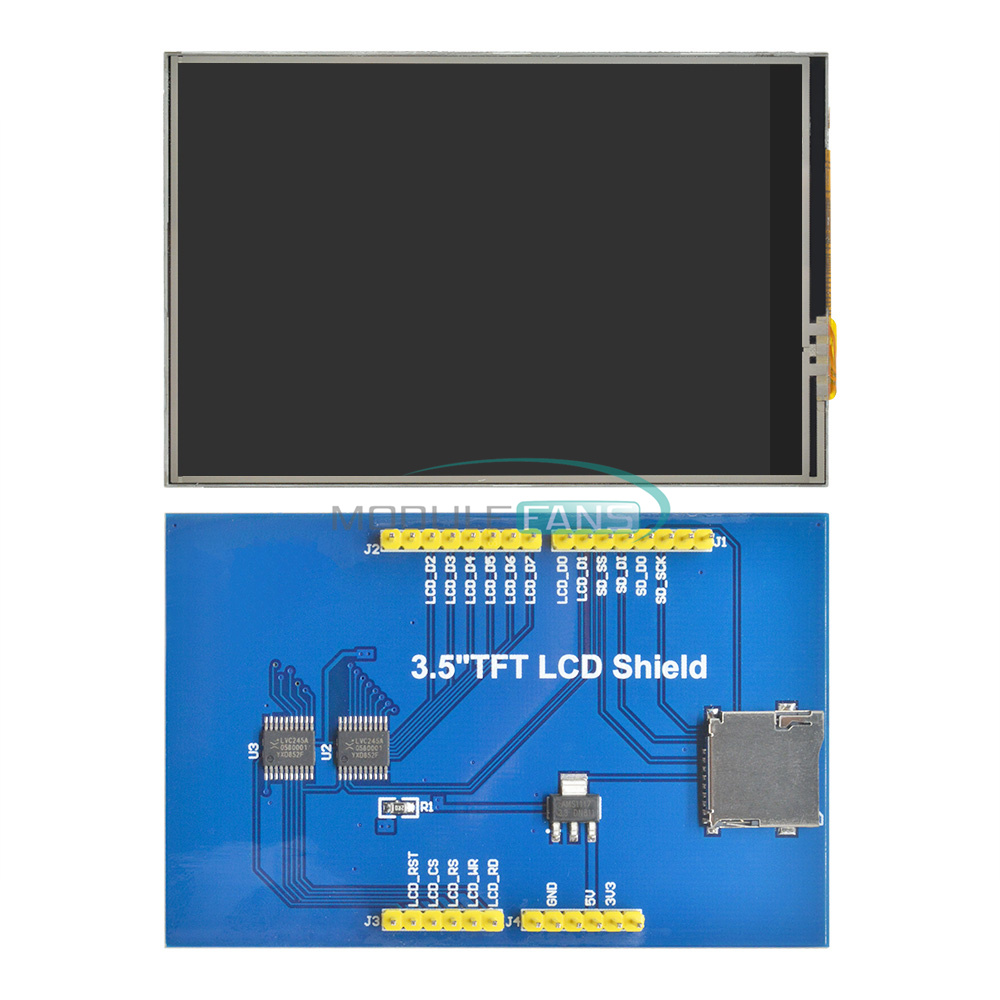 3.5 inch TFT Touch Screen Full Color LCD Module 480x320 for Arduino UNO Mega2560