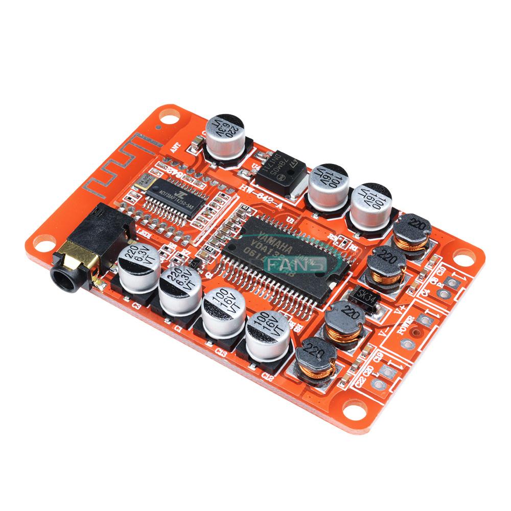 TPA3118 Bluetooth Receiver Stereo Digital Power Amplifier 30W+30W 12v 24v Car MF