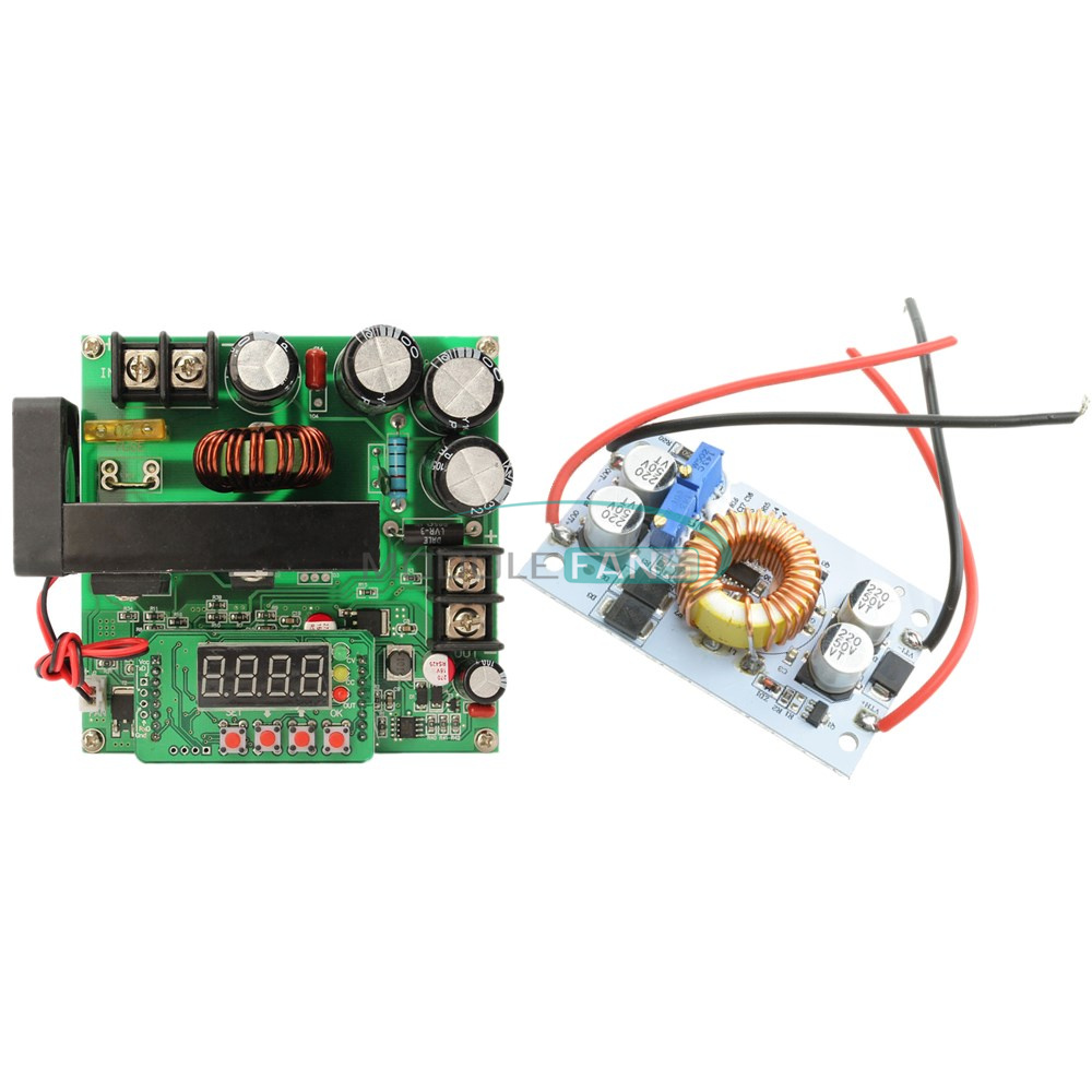 BST900W DC-DC 250W CNC Boost Converter 8-60V Step-up 10-120V Solar Charging CVCC