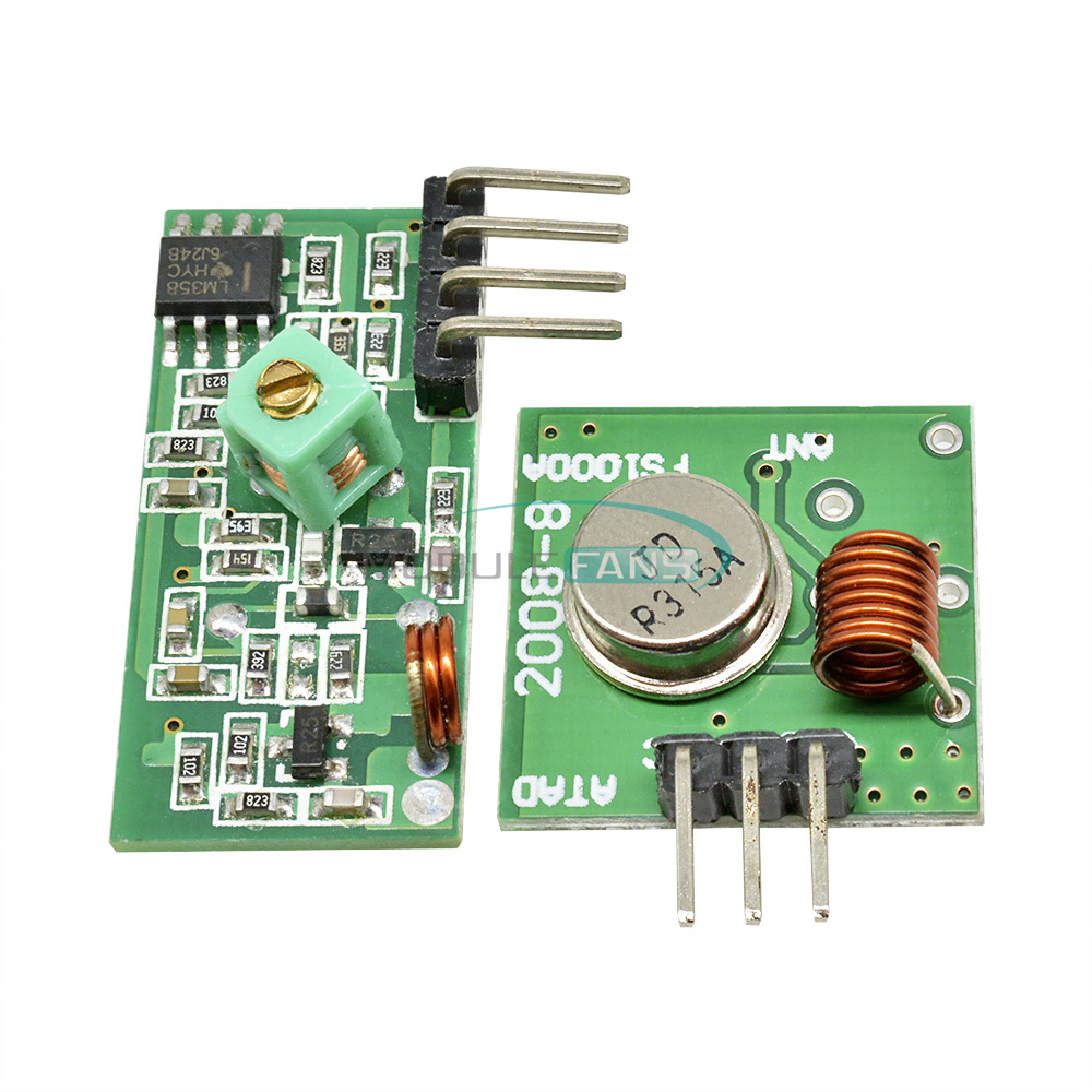 Details about 315Mhz RF transmitter and receiver kit Module ARMMCU  Raspberry Pi Arduino
