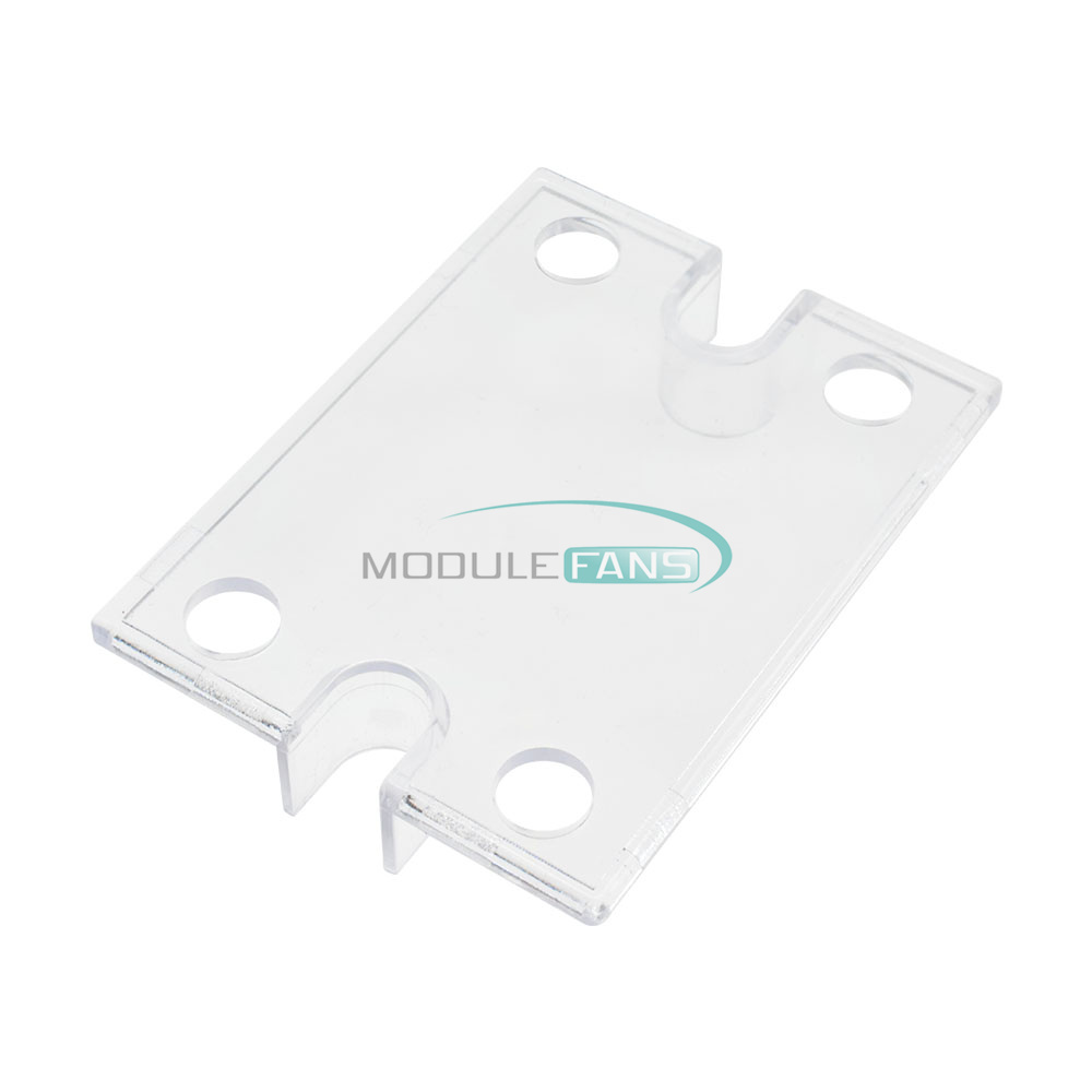 2PCS Single Phase Solid State Relay SSR Safety Cover Clear Plastic Cov Gj