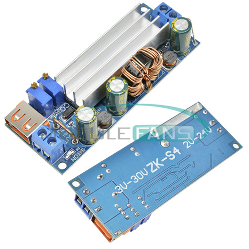 80W DC-DC 2-24V to 3-30 Step Up Module High Power USB Constant Voltage Converter