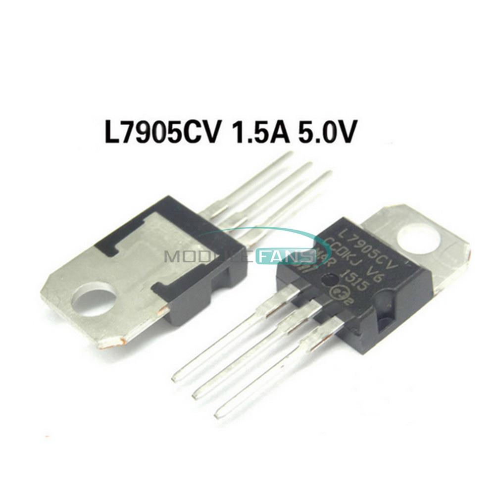 50PCS IC L7906CV 7906 TO-220 ST Voltage Regulator 8V NEW good quality