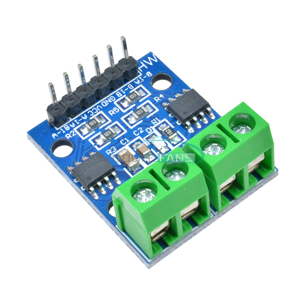 2PCS L9110S Stepper Motor 2 Channels Dual Driver Controller Board for Arduino