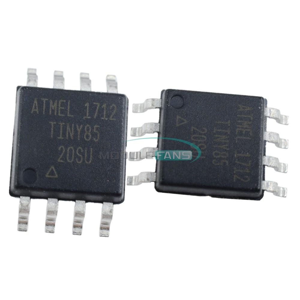 5PCS SOP-8 ATMEL ATTINY85-20SU Tiny85-20SU CHIP IC UK