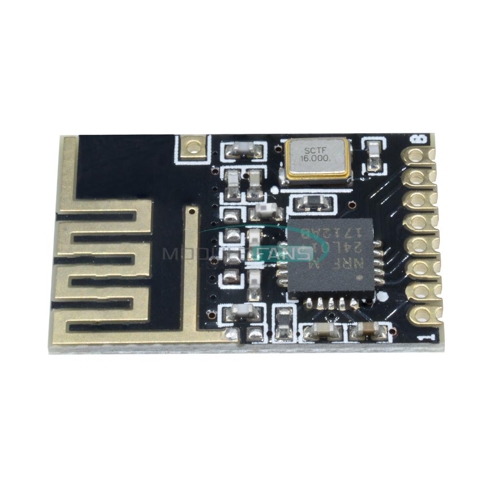 SMD 1.27MM wireless transceiver module Small Size Arduino 5PCS Mini NRF24L01