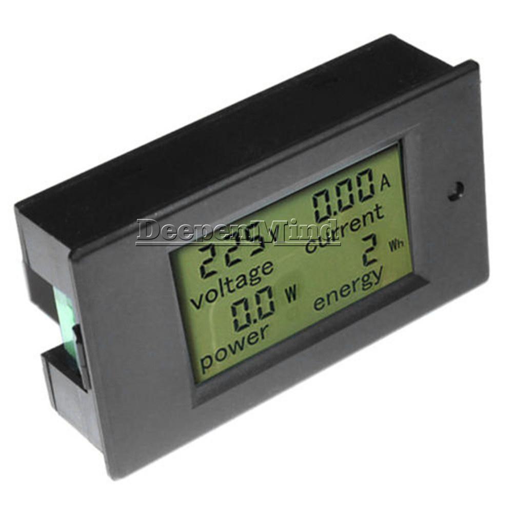 Digital-50A-LCD-Volt-Watt-Current-Power-Meter-Ammeter-Voltmeter-Meter-Shunt thumbnail 13